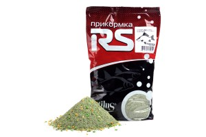 Прикормка RS Карась Марципан (зелёная) 1кг
