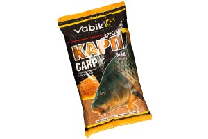"Прикормка Vabik Special Carp Honey ""Карп Мёд"" (тёмно-оранжевая) 1кг"