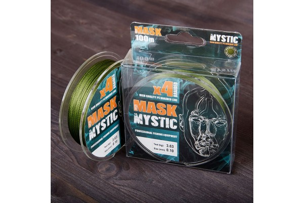 Mask MYSTIC X4-100 Deep-green 0.14