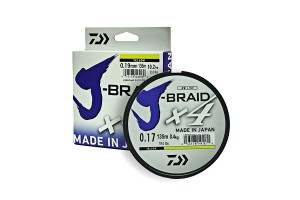 "DAIWA ""J-Braid X4"" 0.15 Yellow"