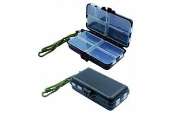 Коробка Namazu для воблеров двухсторонняя, 10 отделений, размер 20х17х4,6 см
