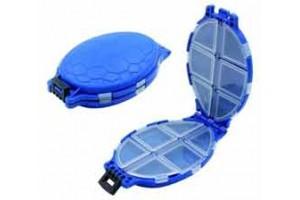 Коробка для рыболовных мелочей Namazu Turtle (12 отдел.) 110 х 75 х 30 мм