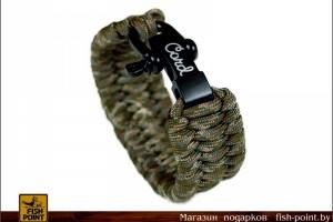 Браслет Anaconda camo на регулируемой застежке