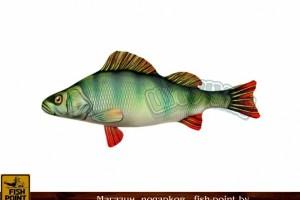 """Подушка-антистресс Рыба """"Окунь"""" мал."""