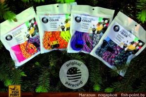 Наборы для плетения браслетов из паракорда COLOR
